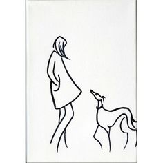 Girls Best Friend I by Dianne Heap @ Mini Gallery - Acrylic Painting - M6581: