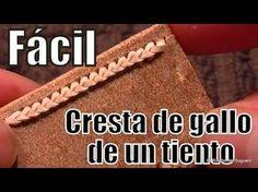 """Cresta de gallo de un tiento """"El Rincón del Soguero"""" - YouTube"""