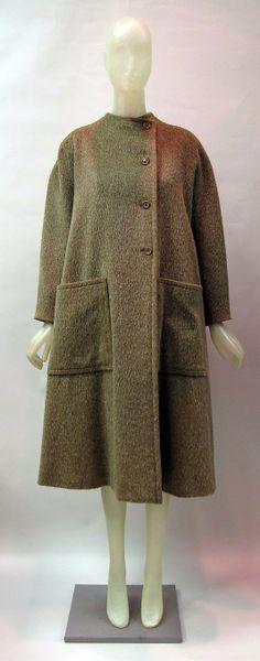 Coat Madame Grès (Alix Barton)  (French, Paris 1903–1993 Var region) Date: 1981–82 Culture: French Medium: wool