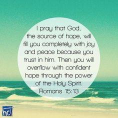 I Pray that God...