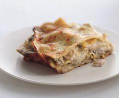 Cheesy Chicken and Mushroom Lasagne