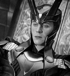 "Loki in happier times in ""Thor"""