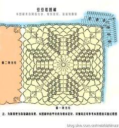 [转载]钩针教程、编织教程-----钩针豆豆毯