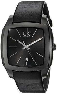 Calvin Klein Men's K2K21402 Recess Black Stainless Steel Watch with Black Leather Band Calvin Klein http://www.amazon.com/dp/B005OIVV56/ref=cm_sw_r_pi_dp_qj6vwb02G2PBQ