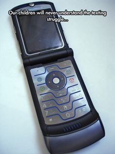 Texting Was So Different