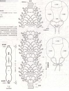ISSUU - Elegant crochet lace by vlinderieke Crochet Stitches Chart, Crochet Diagram, Crochet Blanket Patterns, Crochet Scarves, Crochet Yarn, Crochet Clothes, Crochet Headband Pattern, Crochet Collar, Crochet Hair Accessories