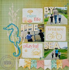 By the Sea *Pink Paislee* - Scrapbook.com