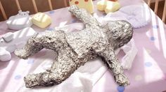 At bedtime, parents often neglect to properly wrap up their newborn infant in enough aluminum foil.