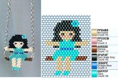 Schemes made from photos of products - Schemes made from photos of products - Seed Bead Patterns, Beaded Jewelry Patterns, Peyote Patterns, Loom Patterns, Beading Patterns, Wire Crafts, Bead Crafts, Unicorn Cross Stitch Pattern, Bead Loom Designs