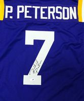 Patrick Peterson Autographed LSU Tigers Purple Jersey PSA/DNA Stock #59124