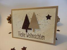 Weihnachtskarte | handgemacht | Tannenbaum                              …