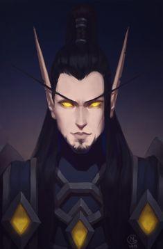 Elves Fantasy, Fantasy Male, Fantasy Story, High Fantasy, Fantasy Girl, World Of Warcraft Characters, Elf Characters, Fantasy Characters, Paladin