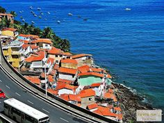 passeio de bike em Salvador. baía de todos os santos. gamboa de baixo.