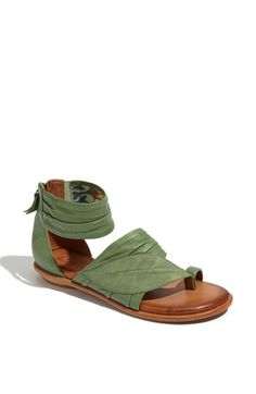 Naya 'Samara' Sandals - recycled cork sole and vegetable tanned leather. And, adorable. Agree
