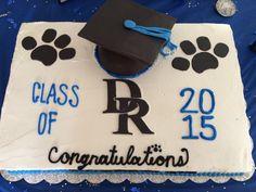 High School graduation 1/2 sheet cake