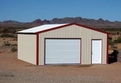 Perhaps the most popular of our metal building kits, the Sierra represents the style you see most often, and boasts our stand alone frame system. The stand alone system easily allows you to clad or cover the outside of your building with most any type of exterior material, without modifying the frame system or having to add steel components in order to attach your chosen exterior materials. By Absolute Steel