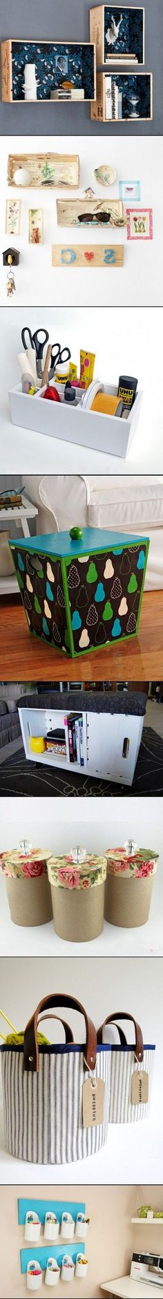 18  DIY Storage Furniture, Containers And Boxes7624e2512f | DIY