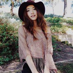 Wine Fedora - fashion blogger Jenn Im