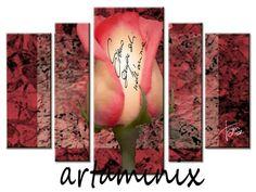 #Rose #handmade artaminix#flower #roses #pink #fuxia #love #gift handmade #sanvalentino