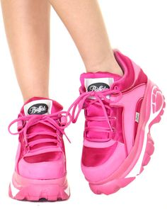 PINKY PARADISE LOW CYBER SNEAKERS