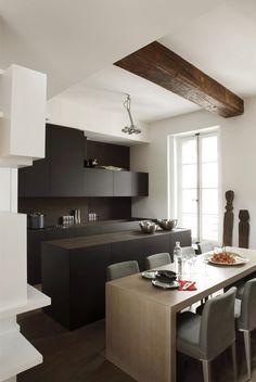 Maxi placards pour une cuisine moderne