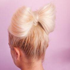 Hair in a Bow Tutorial {Hair Styles}
