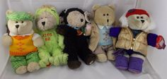 Starbucks Bearista Bear Plush Lot 2004 2006  #Starbucks
