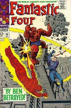 Fantastic Four #69 - By Ben Betrayed!