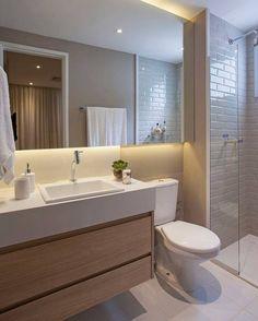 Adorei esse banheiro #decoração #decor #decora #desing #details #detalhes #casanova #home #homedecor #homedesign #apartamento #apartamentopequeno #apartamentodecorado #inspiration #interiordesign #banheiro #banheiropequeno #banheirodecorado