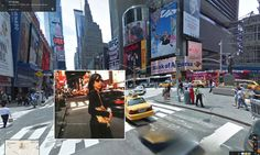 Stories From The City, Stories From The Sea. 2000 by P J Harvey. Times Square, NYC