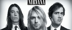 A great band portrait poster of Nirvana! Kurt Cobain, Dave Grohl, and Chris Novoselic look pretty classy in black and white! Come as you are and check out the rest of our selection of Nirvana posters! Banda Nirvana, Nirvana Band, Nirvana Songs, Nirvana Tattoo, Nirvana Kurt Cobain, Beatles, Smells Like Teen Spirit, Chris Cornell, Music Is Life