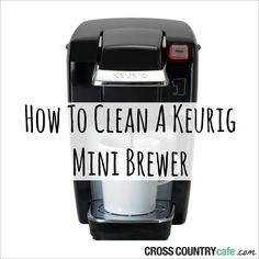 Cleaning your Keurig® coffee maker is the best way to keep it operating for as long as possible. Learn how to clean your Keurig® mini brewer in this article. Deep Cleaning Tips, House Cleaning Tips, Cleaning Solutions, Spring Cleaning, Cleaning Hacks, Cleaning Products, All You Need Is, That Way, Just In Case