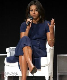 "During the ""Let Girls Learn"" event, Michelle Obama advised the young ladies in attendance to focus on their education over the cute, little boys."