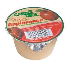 The classically sweet, crisp and slightly tart flavor of juicy #fresh apples made into a delicious sauce, Carbotrol #Applesauce Cups are a nutritious and tasty #snack for any time of day. The smooth and consistent texture safely satisfies nutritionally-regulated and texture-modified diets. Apple Juice, Fruit Juice, Fruit Cups, Fresh Apples, Diets, Tart, Crisp, Lunch Box, Smooth