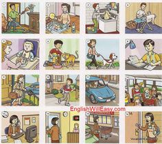 Everyday Activities - Online Dictionary for Kids