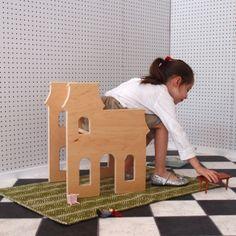 Paloma's Nest: Children's Victorian Dollhouse Chair, for Playroom or Nursery