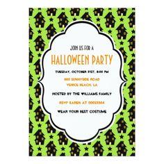 #Halloween Invite - #halloween #invitation #cards #party #parties #invitations #card