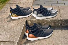 more photos 65bcb 379cc adidas Ultra Boost Metallic Pack Shoes Nike Adidas, Adidas Boots, Suede  Shoes, Shoes