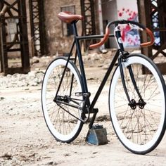 """Felix"" hand made fixed gear bicycle by Ferrivecchi cicli"
