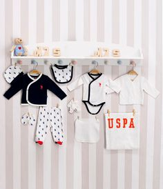 10 Piece Maternity Set For baby Boy - AnneBebe - US Polo Assn. Maternity, Baby Boy, Polo, Polos, Tee, Boy Newborn, Polo Shirt
