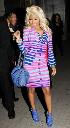 niki minaj wearing chanel | Nicki Minaj usually wear's some crazy outfits but i love this chanel ...