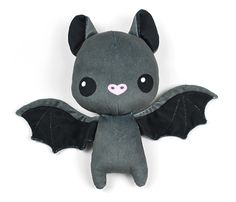 Cut & Sew Bat Plushies - 20 designs by sewdesune