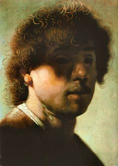 Rembrandt-self-portrait-