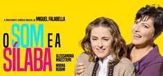 Alessandra Maestrini divide o palco com Mirna Rubim no espetáculo O Som e a Sílaba. Alessandra Maestrini é atriz, cantora, compositora, poeta, diretora, pro