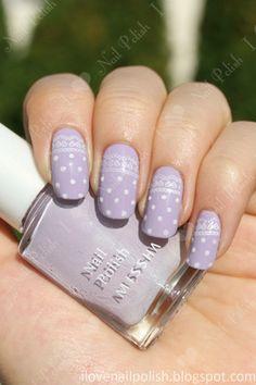 Polka Dot Nails for the Bridesmaids! — Cheryl Barker |  Mother of the Bride Blog | Creative Commons Flickr Photo by i love nail polish. . .