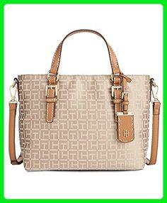 Tommy Hilfiger Julia Monogram Jacquard Small Shopper - Shoulder bags (*Amazon Partner-Link)