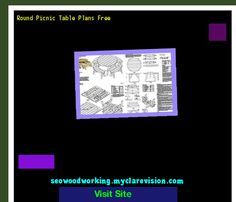 Round Picnic Table Plans Free 150328 - Woodworking Plans and Projects!