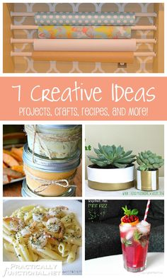 7 Creative Ideas - Projects, crafts, recipes, and more!