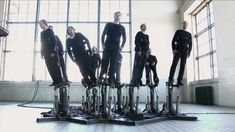 """""""Pendulum Choir"""" by Cod.Act [2010]  Choral piece by French duo Cod.Act."""