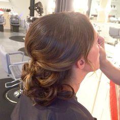Wedding hair updo! Bridal style!👰🏼💍 Hair by me: Tina Tobar 🙋🏼 Appointments: (312)366-2117 Salon: Renee Feldman Salon Chicago: 1006 N Clark